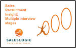Sales Recruitment Insight: Multiple interview stages